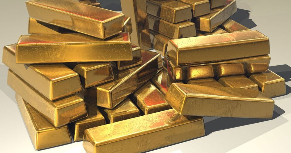 Пад на цената на златото