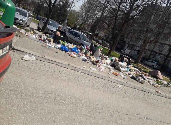 ФОТО: Драчево се гуши од ѓубре, општинските власти ништо не преземаат