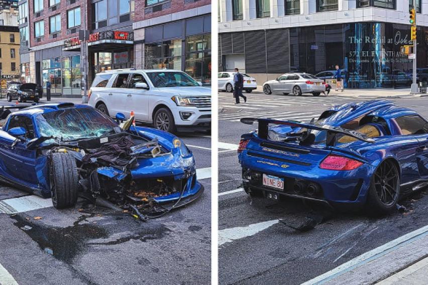 """""""Леташе"""" низ Менхетн со своето Порше, уништи неколку автомобили и се обиде да побегне…"""