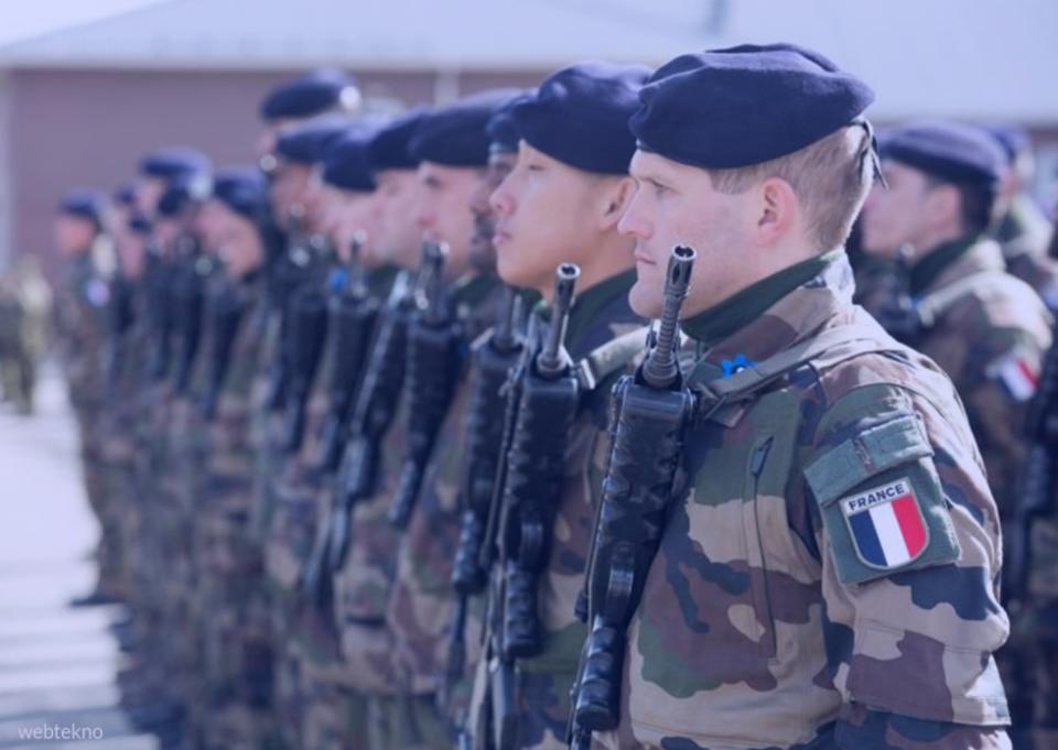 Околу 600 француски војници се заразени со коронавирусот
