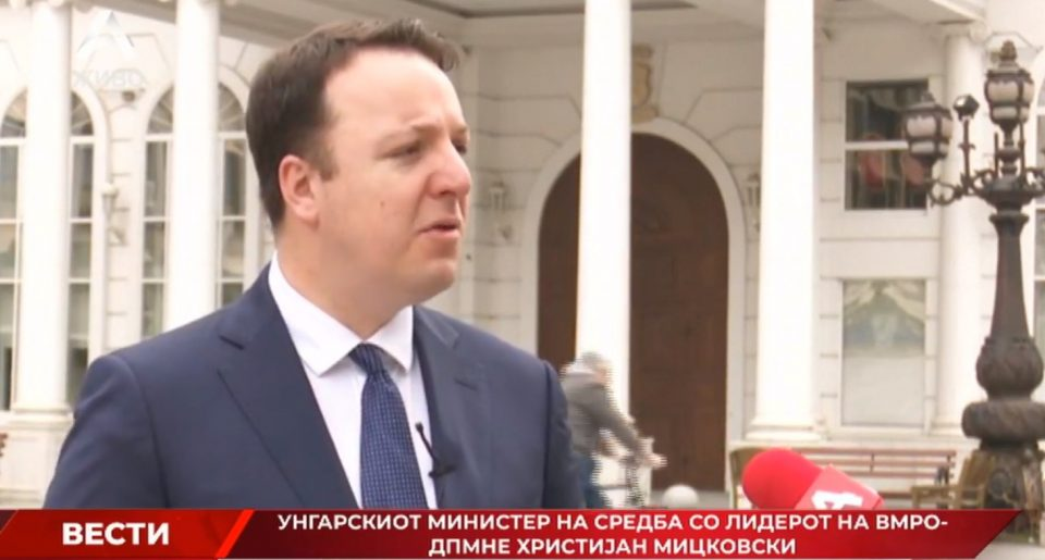 Николоски: Унгарија реши да и подаде рака на Македонија, ВМРО-ДПМНЕ и од опозиција е спремна да помага