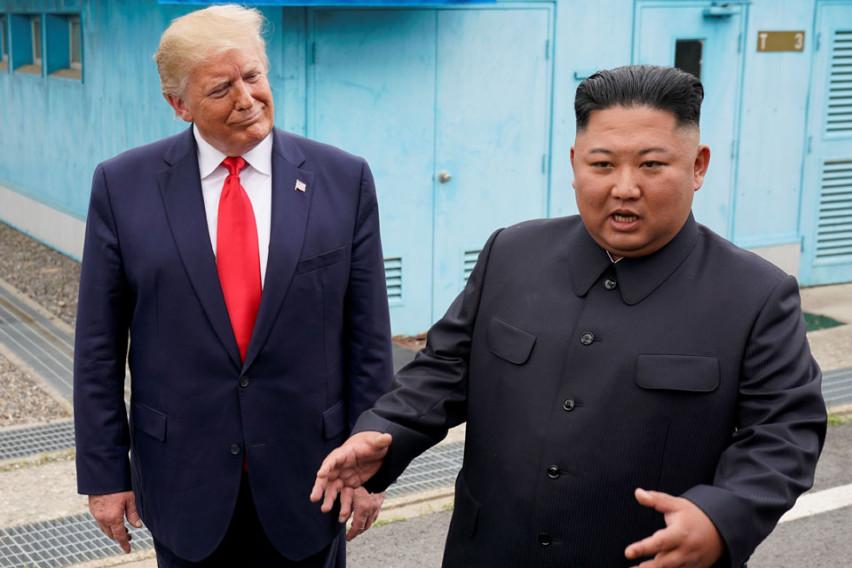 Трамп за лидерот на Северна Кореја: Знам како му е на Ким, но не можам сега да зборувам за тоа