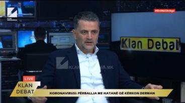 Хасани: Загрижувачки е бројот на заразени здравствени работници, тоа е црвен аларм за здравствената и раководна власт