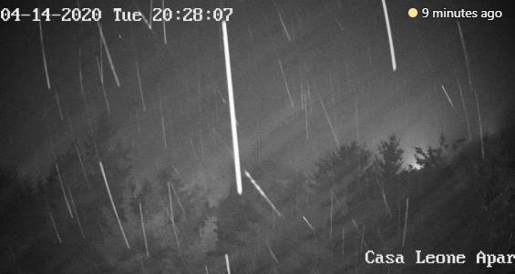 Прогнозата на УХМР се исполни- вечерва снегот врне без престан на ова место (ФОТО)