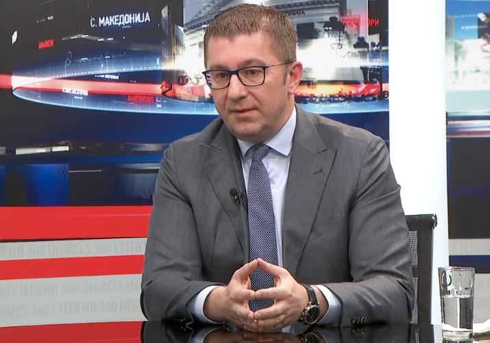 """Мицкоски во """"360 степени"""": Апелирам до Пендаровски да свика нова лидерска средба"""