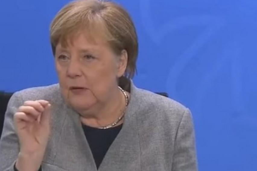 Снимката од една минута и пол за која зборува цел свет! Меркел ги објасни најважните точки во борбата со Ковид-19…
