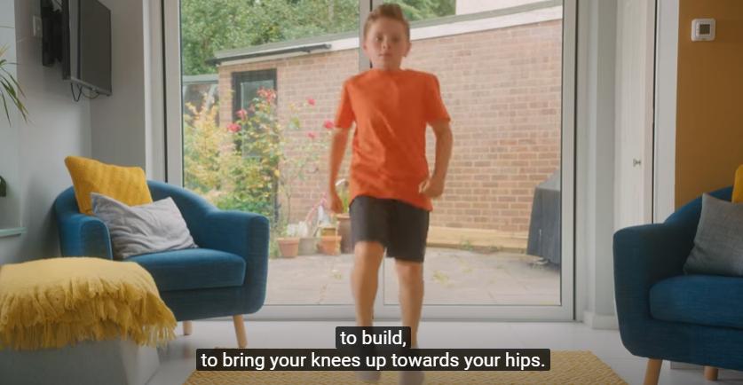 Вежбај дома: Одлични вежби за деца