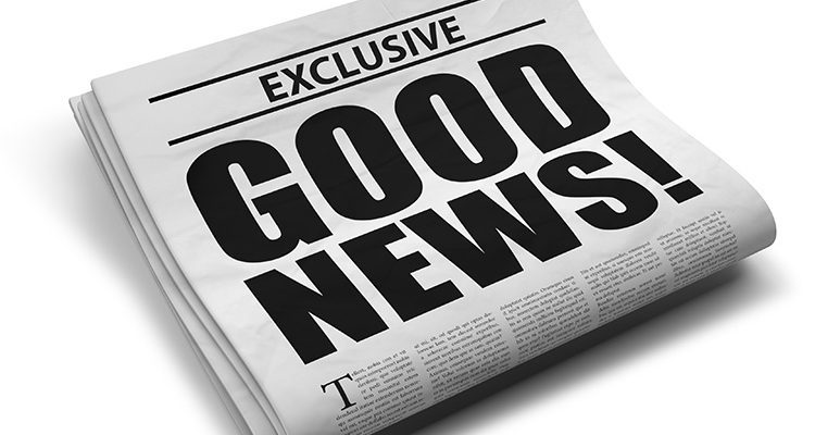 Во услови на криза, луѓето почесто бараат добри вести