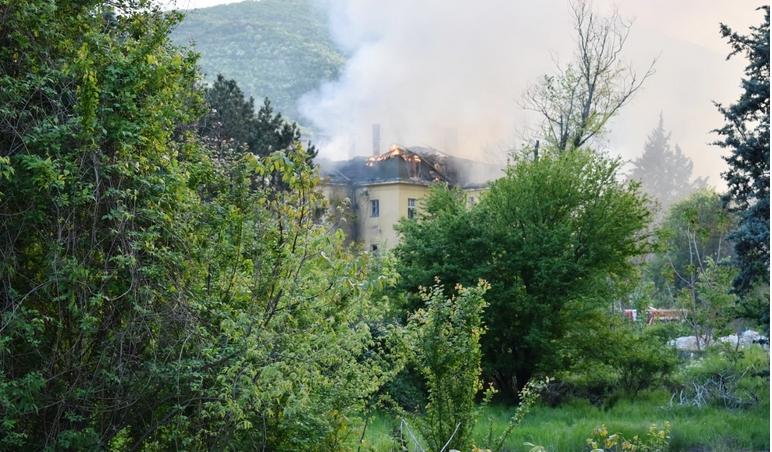 Сведоштво и детали за пожарот во Струмица