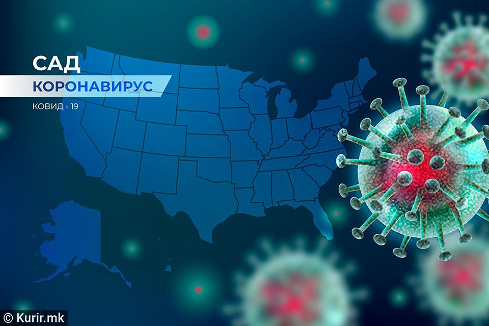 САД: Трет ден по ред над 50.000 заразени со Ковид-19