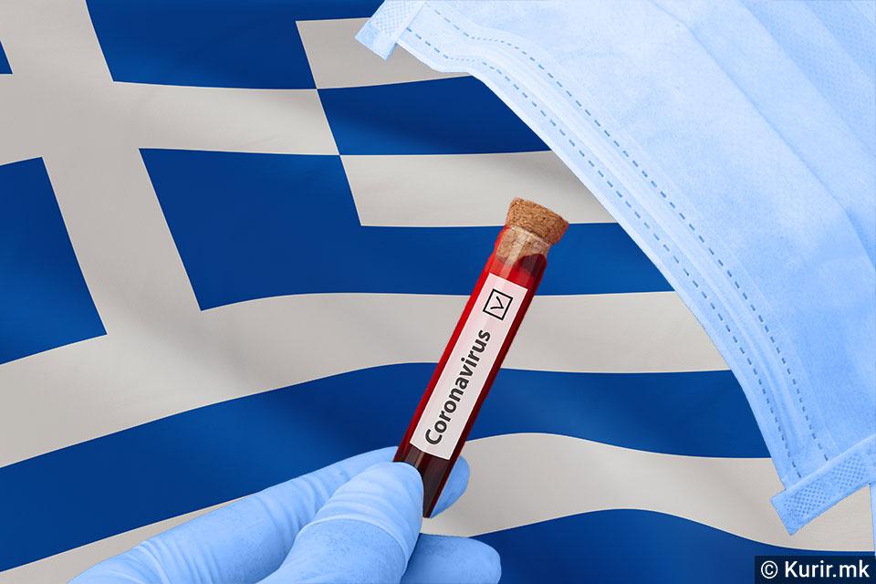 Во Грција 101 починат и 904 новозаразени од Ковид-19