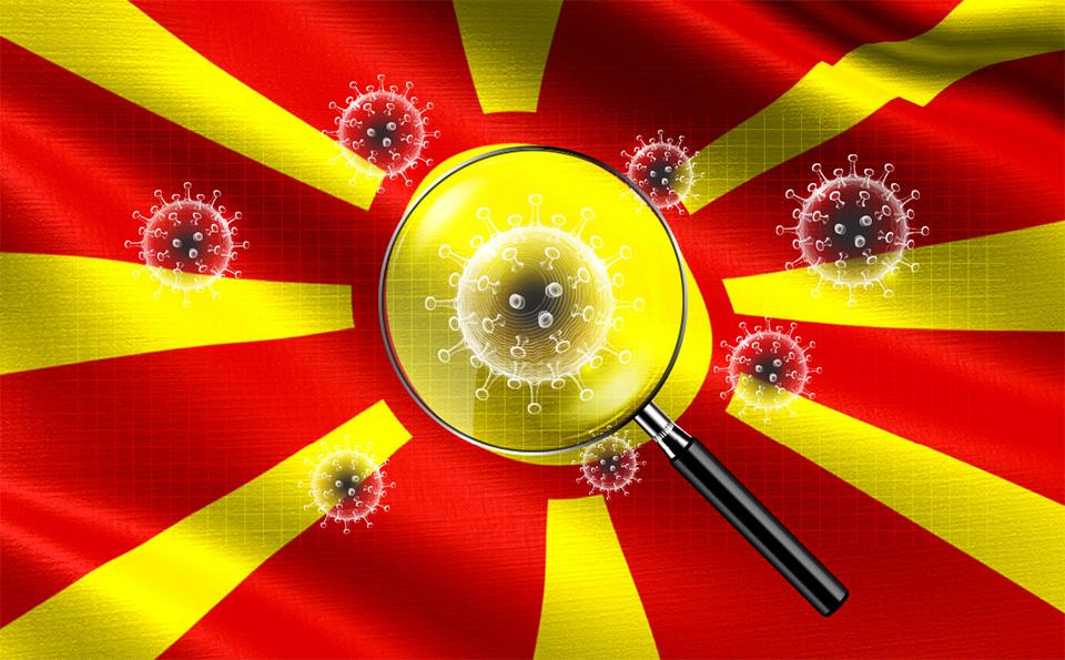 Вкупно 1300 случаи на коронавирус во Македонија, најголем дел се од Скопје, Куманово и Прилеп
