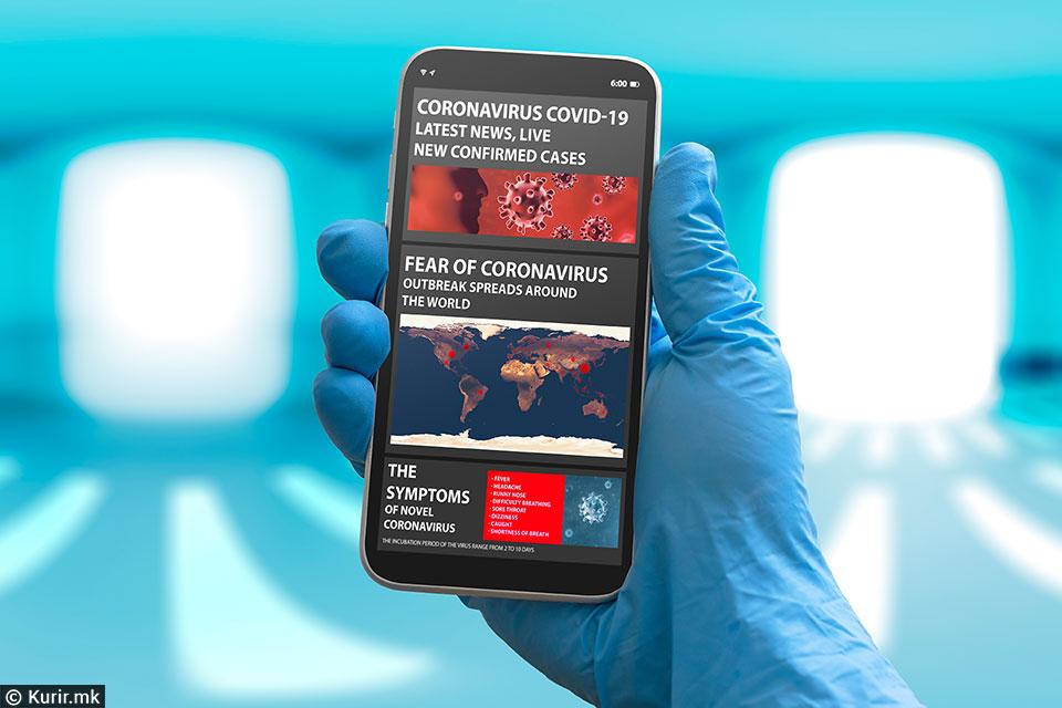 Преку апликација на мобилните телефони на Кипар ќе се следат контактите на заразените со Ковид-19