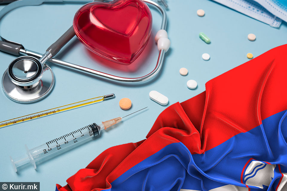 Најголем број новозаразени со коронавирус во Словенија од 16 април до сега