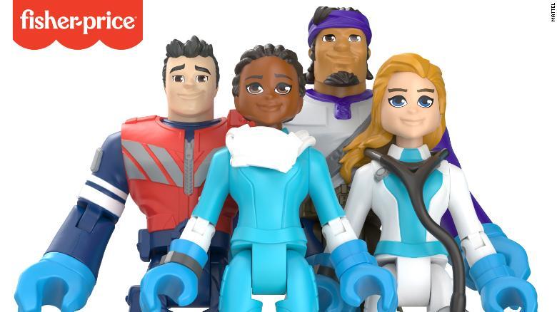 ФОТО: Акциони играчки во чест на медицинските работници кои се борат против коронавирусот