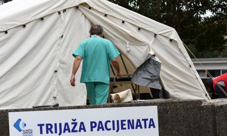 Бројот на новозаразени во Црна Гора опаѓа петти ден по ред