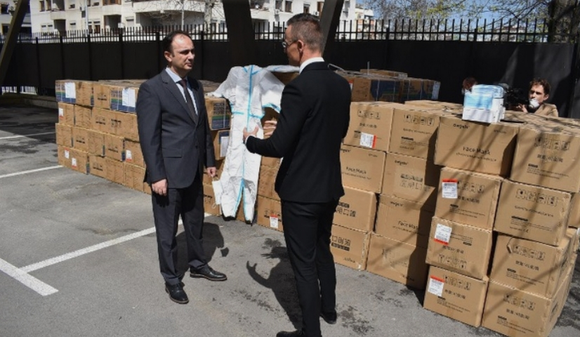 Уште една помош од Унгарија за Македонија