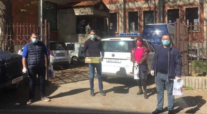 Донација на ОК Чаир на ВМРО – ДПМНЕ од висококвалитетни маски и заштитни ракавици за ПС Чаир