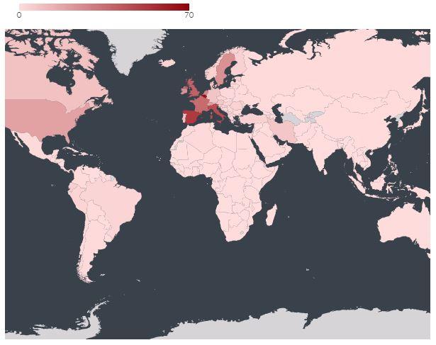 Ковид-19, последните места во светот кадешто нема ниту еден регистриран случај