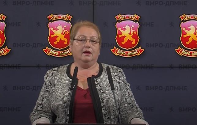 Јаневска: СДСМ и Спасовски да не ги жртвуваат учениците и граѓаните заради партиски игри