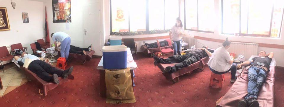 Кога е најпотребно ТУКА СМЕ: ВМРО-ДПМНЕ ОК Бутел организираше крводарителска акција