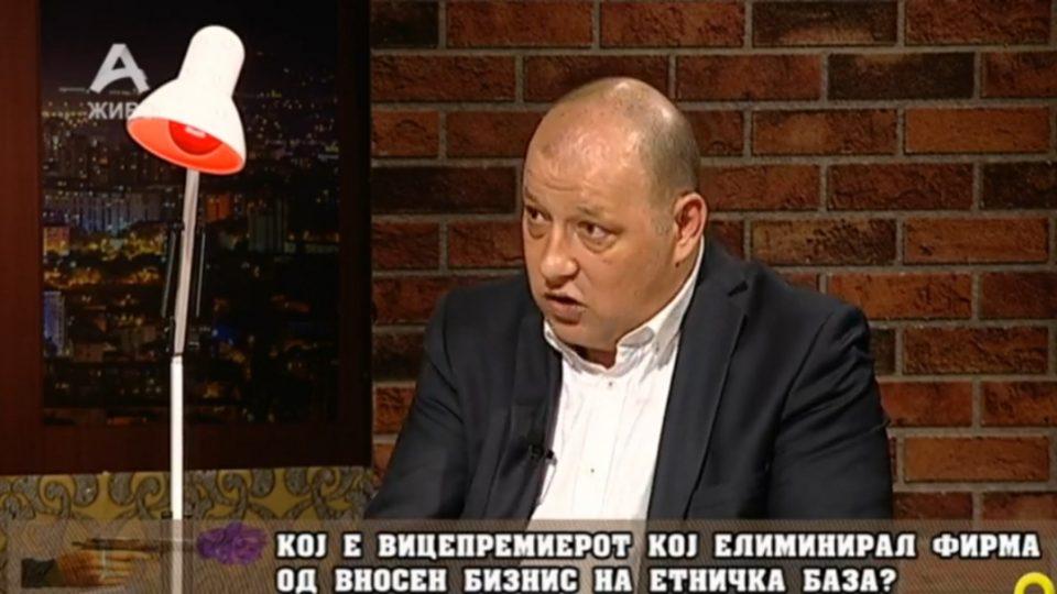 Грозданов: Сеад Кочан и Трансмет се елиминирани на етничка база!