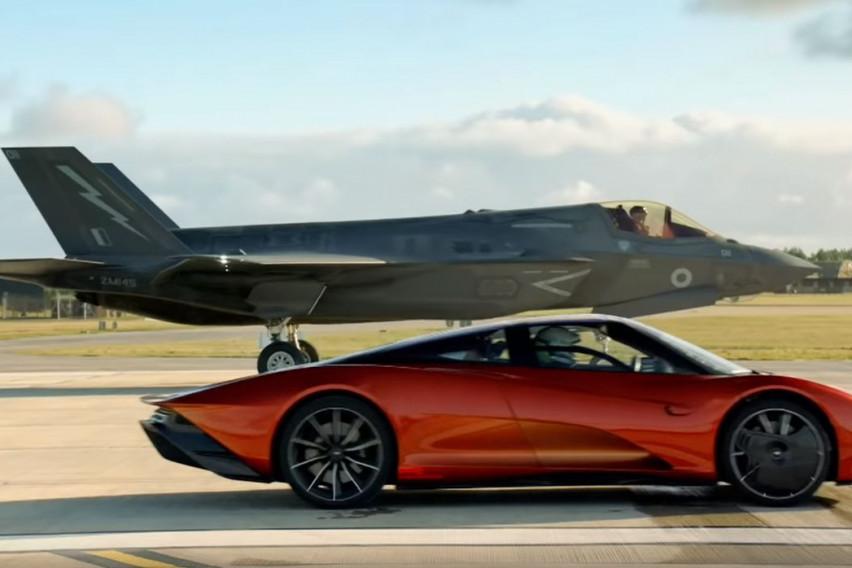 Фасцинантна трка на најбрзиот авион и најбрзиот автомобил на светот: Што мислите, кој е победникот?