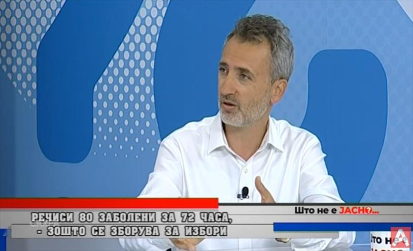 Екс генералниот секретар на СДСМ д-р Андреј Петров е за масовно тестирање, не за брзи избори
