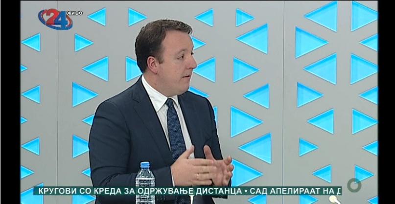 Николоски: ВМРО-ДПМНЕ е за избори, но тие избори мора да се со целосна заштита на здравјето на граѓаните