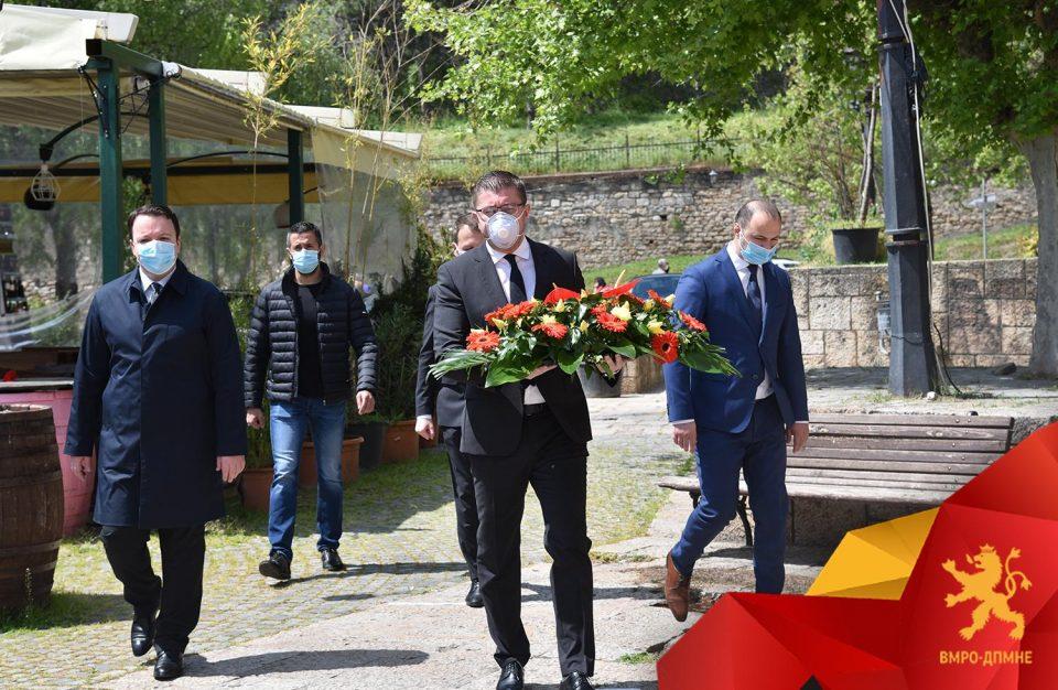 Мицкоски: Гоце Делчев е столбот на современата македонска држава не треба да биде предмет за било какви преговори
