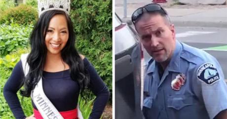 Сопругата на полицаецот кој го уби Флојд побара развод
