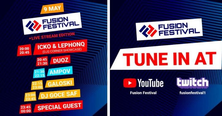 9 МАЈ – ден резервиран за Fusion Festival!