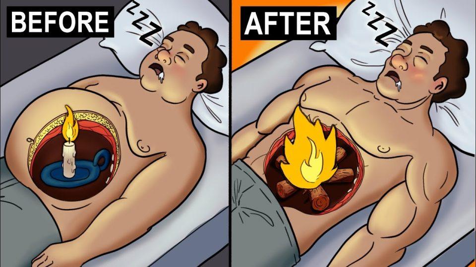 Како да согорувате калории додека седите или спиете?