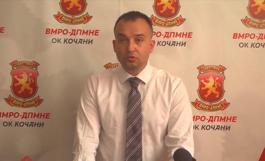 Лефков: Поткуп и притисоци во Кочани од страна на СДСМ и директорката на ФЗО Кочани, Ангелова
