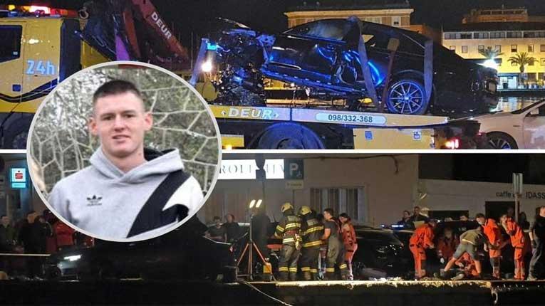 ВИДЕО: Објавена снимка од страшната несреќа во која загинаа две момчиња