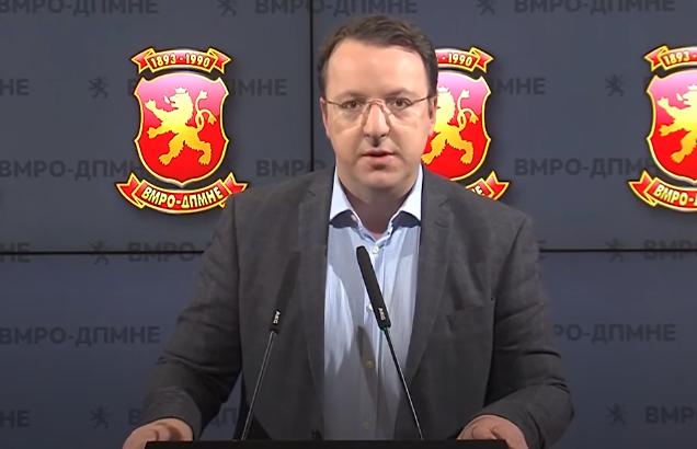 Николоски: Зошто финансиската полиција и Агенцијата за разузнавање се контролирани од потпретседателот на СДСМ?