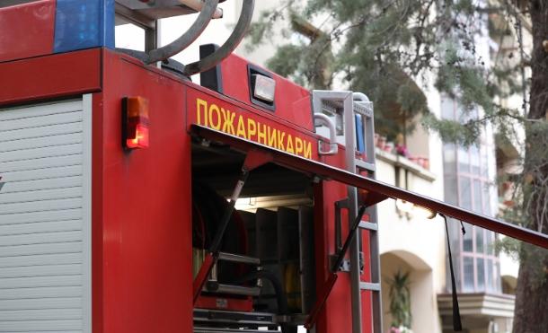 Пожар во ресторан во Тафталиџе