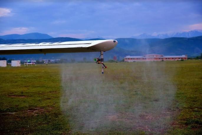 Авионска дезинсекција против комарци во Скопје