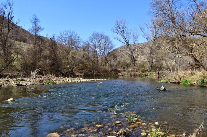 Пад на водостојот на поголем дел од реките во однос на вчерашниот ден
