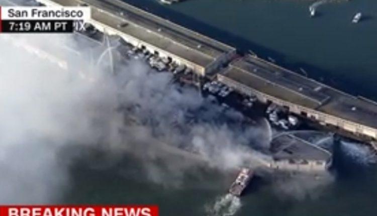 Голем пожар во Сан Франциско, гори градско обележје ВИДЕО