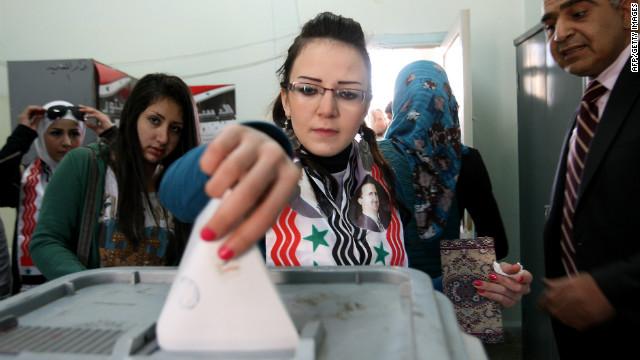 Повторно пролонгирани парламентарните избори во Сирија