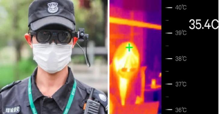 Кинезите измислија наочари кои ви ја покажуваат температурата на луѓето околу вас
