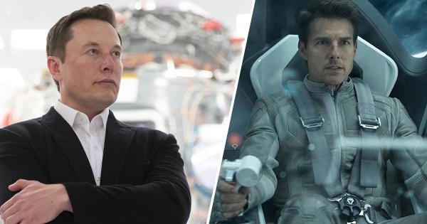 Том Круз ќе снима филм во вселената