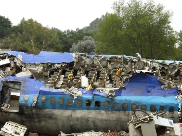 Се урна авион со хуманитарна помош, 7 лица загинаа
