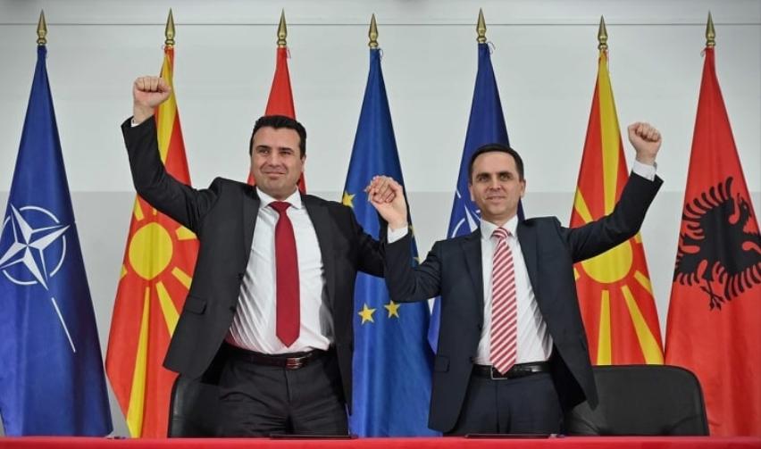 СКАНДАЛ: Коалицискиот партнер на Заев упати честитки до УЧК затоа што прогласиле слободна зона во Македонија