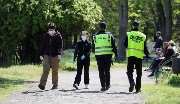 Казнети 511 граѓани за неносење заштитна маска