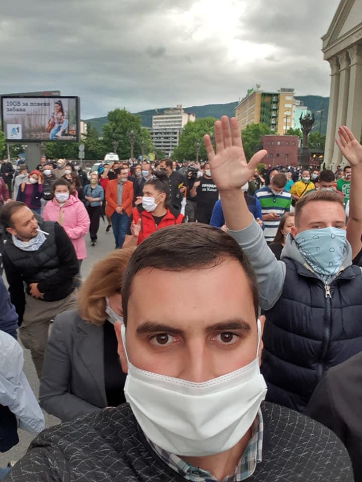 Јаулески: Дождот не беше пречка да излеземе и да бараме правда за Кољо- му дадовме жолт картон на обвинителството и целиот судски систем