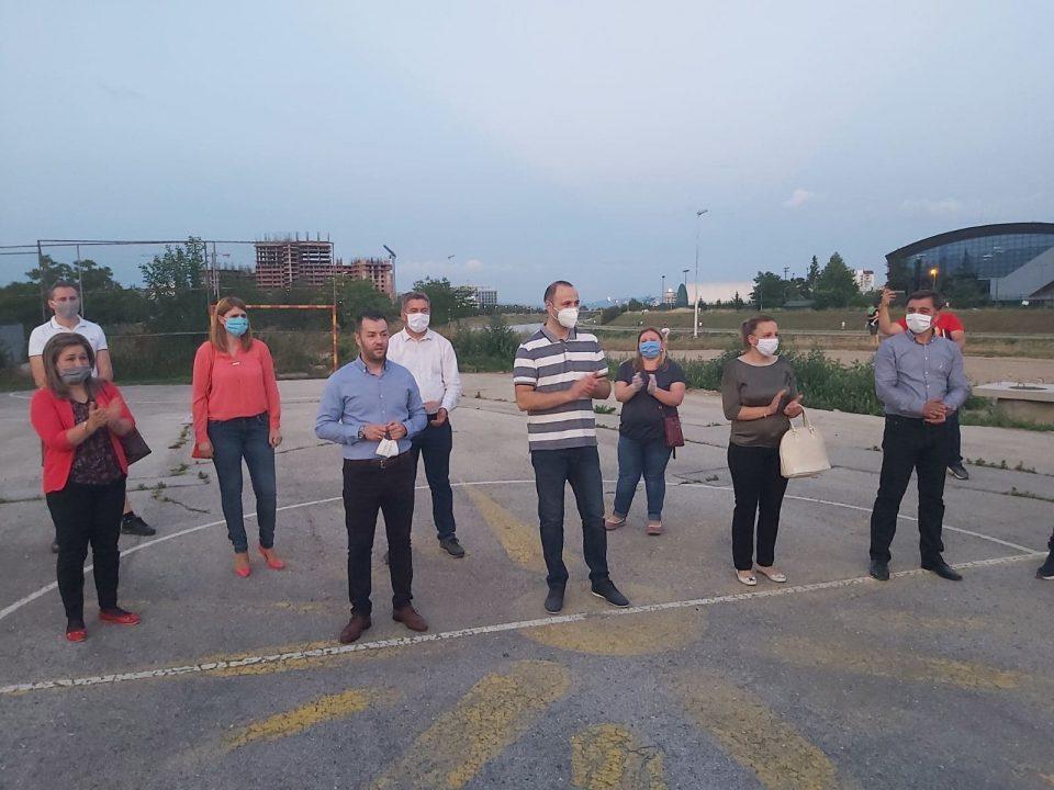 Мисајловски во посета на граѓаните од населбата Керамидница