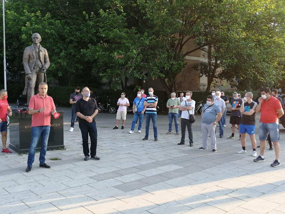 Јаревски на средба со граѓаните од Козле