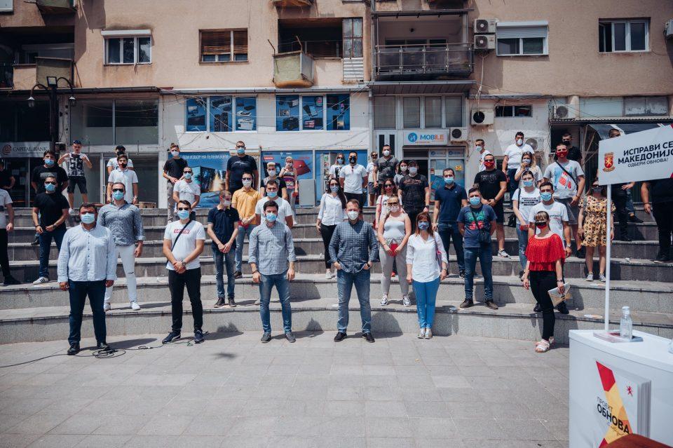 Јанушев: Енргијата на младите ми дава сила за повеќе да работам, ќе си ја обновиме татковината сите заедно